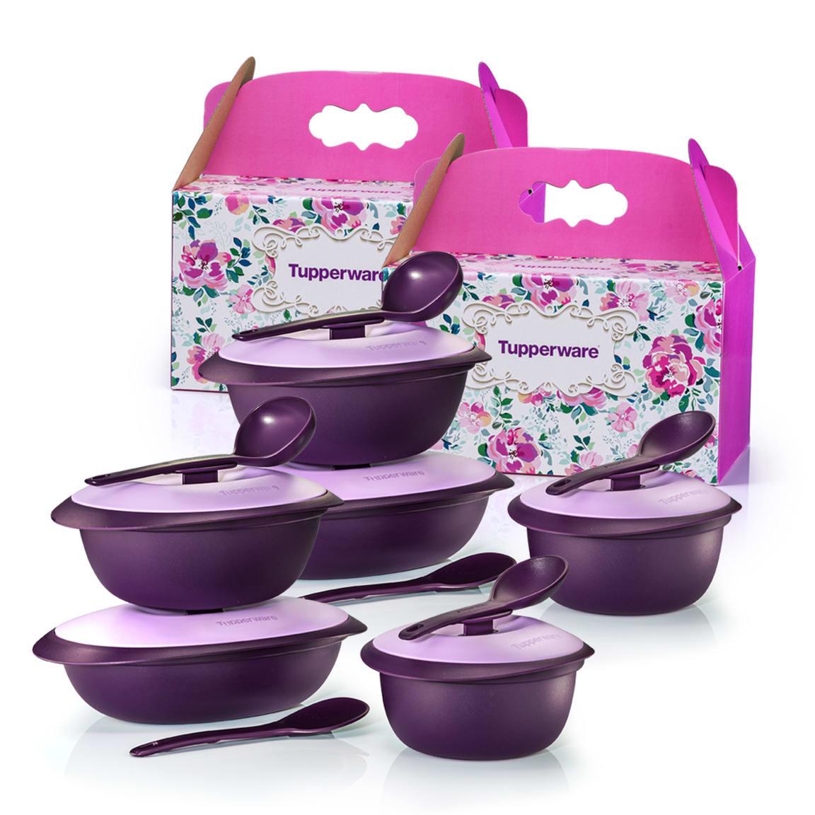 Purple Royale Serveware Set (2)