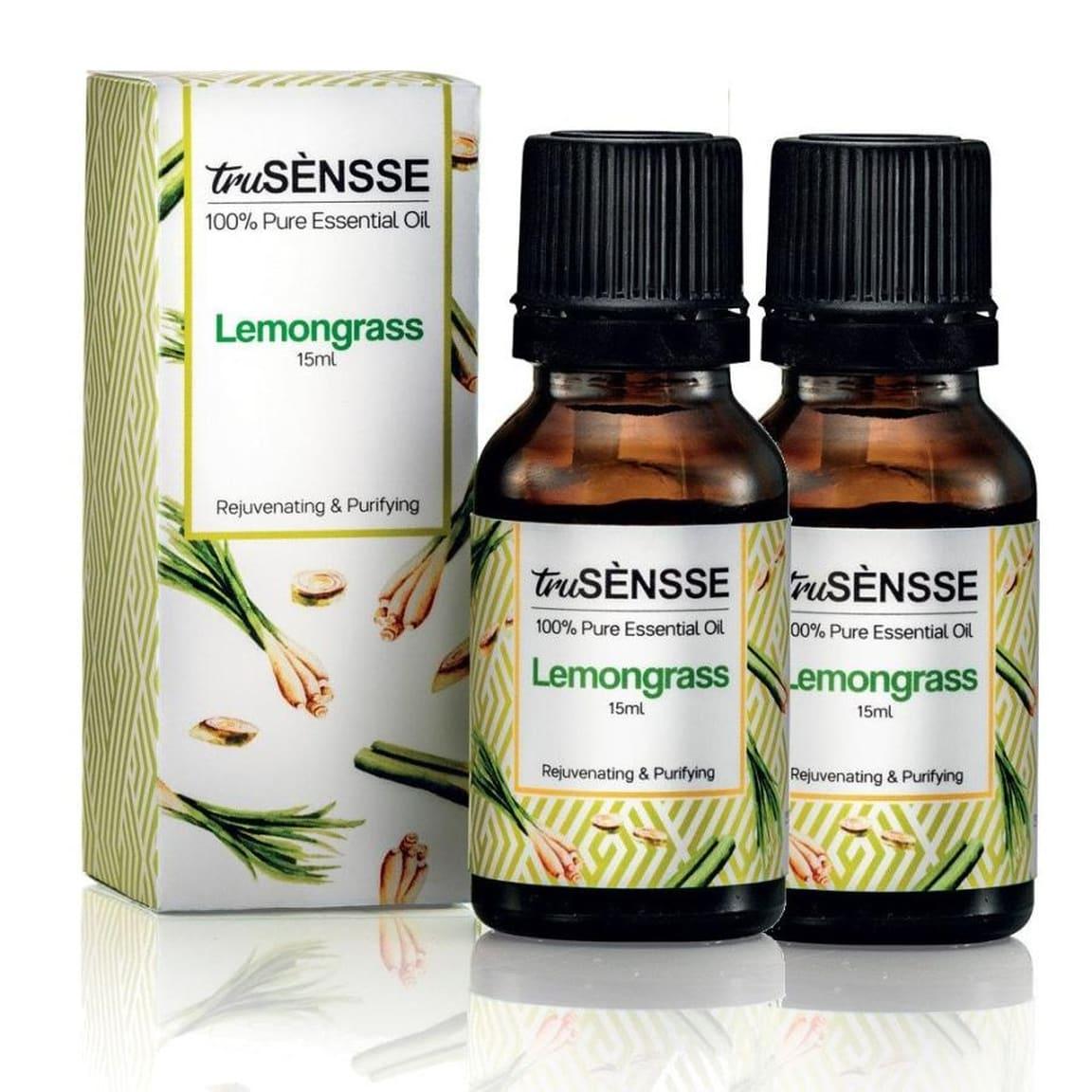truSÈNSSE 100% Pure Essential Oil - Lemongrass Twin Pack (2) 15ml