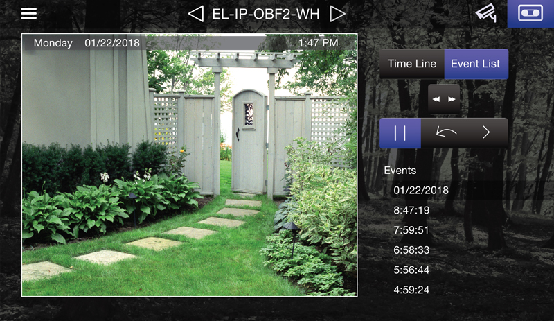 Timeline and Event Playback - ELAN