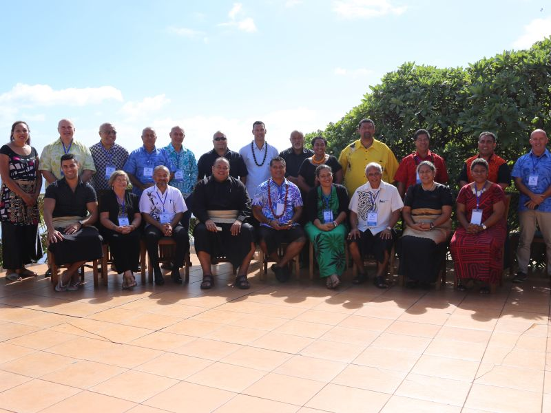 GGLC Meeting in Tonga, 2017. Photo Credit: IUCN Oceania