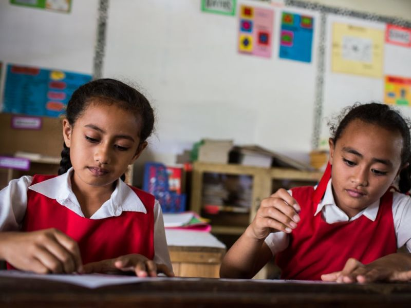 Oceania, education and promoting change from within