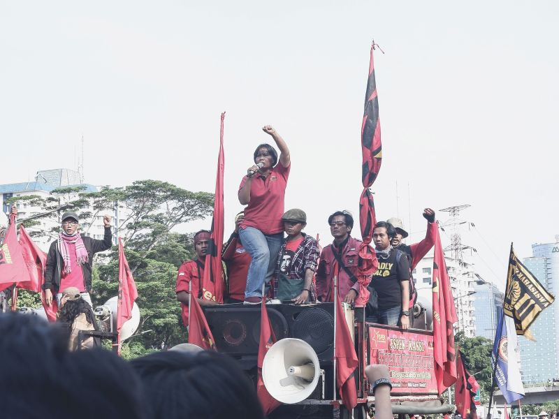 Women protest for their rights in Indonesia. Nur Taufik Zamari, Unsplash