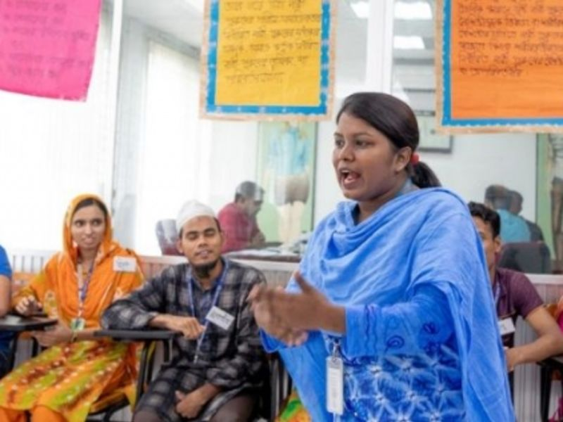 Empowering women workers in Bangladesh