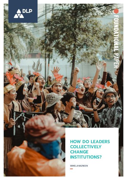 How Do Leaders Collectively Change Institutions?