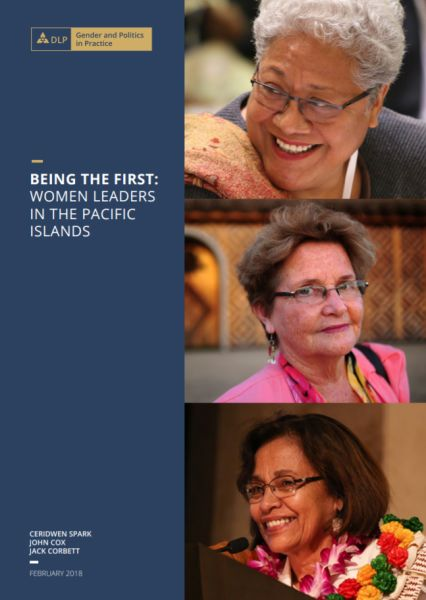 Being the First: Women Leaders in the Pacific Islands