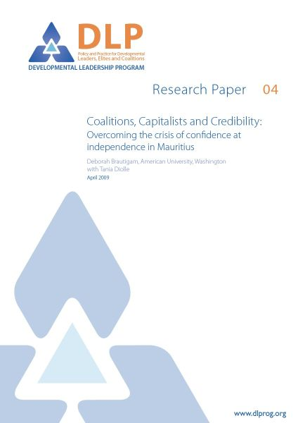 Coalitions, Capitalists and Credibility: Overcoming the Crisis of Confidence at Independence in Mauritius