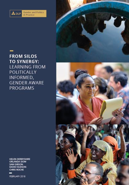 From Silos to Synergy: Learning from Politically Informed, Gender Aware Programs