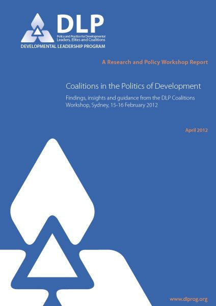 Coalitions in the Politics of Development