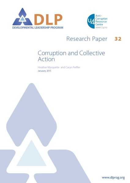 Corruption and Collective Action