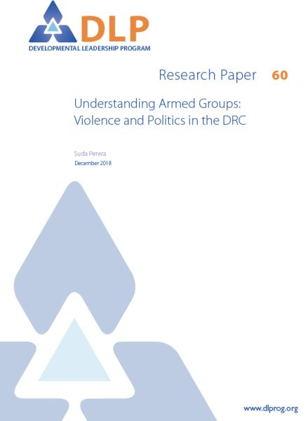 Understanding Armed Groups: Violence and Politics in the DRC