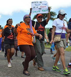 One Billion Rising Fiji 2013