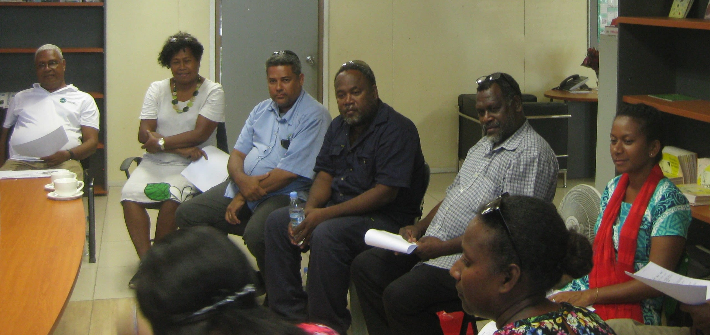 Tok stori in progress in Solomon Islands