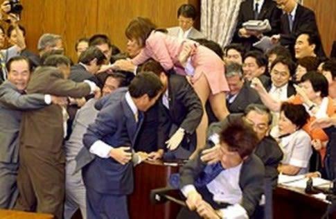 Parliamentary debate in Taiwan