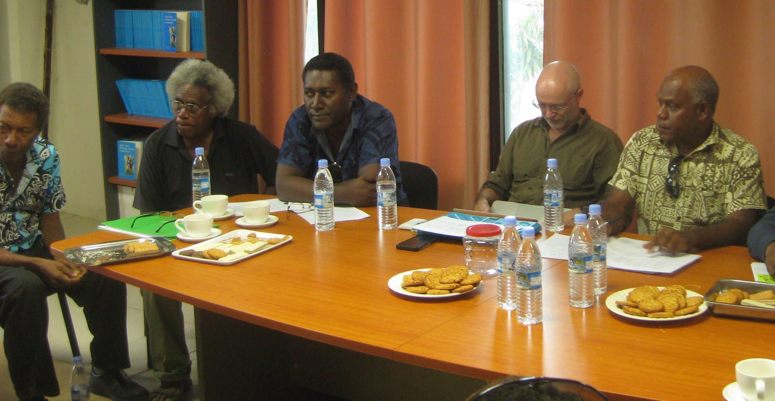 Tok stori in action in Solomon Islands