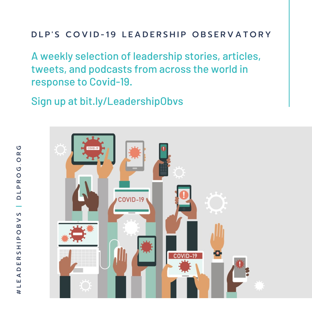 Sign up to the DLP Leadership Observatory