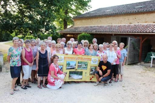Club de randonneurs en vacances au Bosc Negre