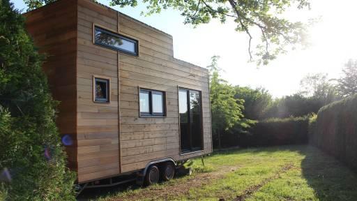 location tiny house au Bosc Nègre