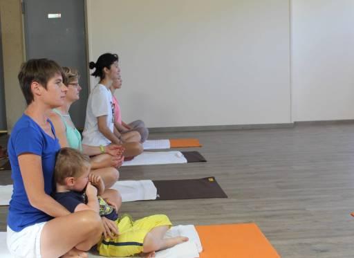 Yoga les op vakantiepark Bosc Nègre