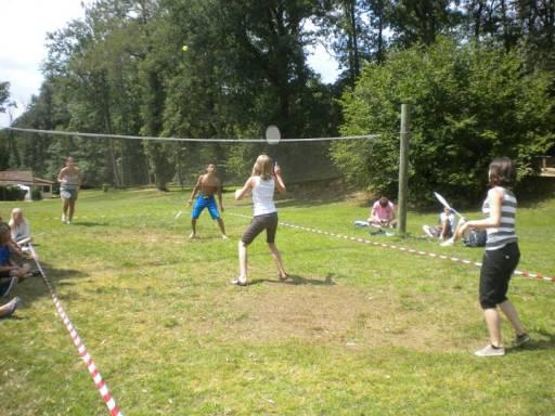 Badminton op Bosc Nègre
