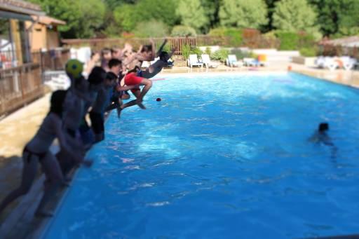 baignade pendant classe verte au bosc negre