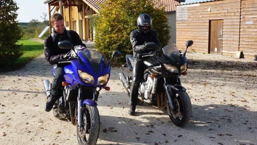 Club moto au Bosc Negre