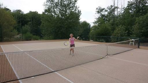 Court de tennis au Bosc Negre