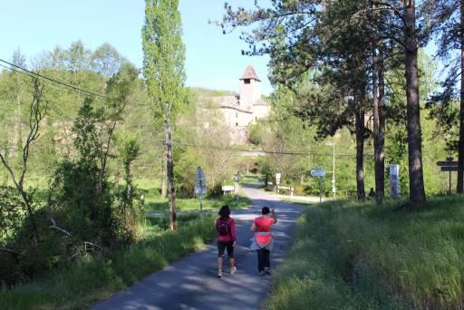randonnée au village de saint avit près de bosc negre