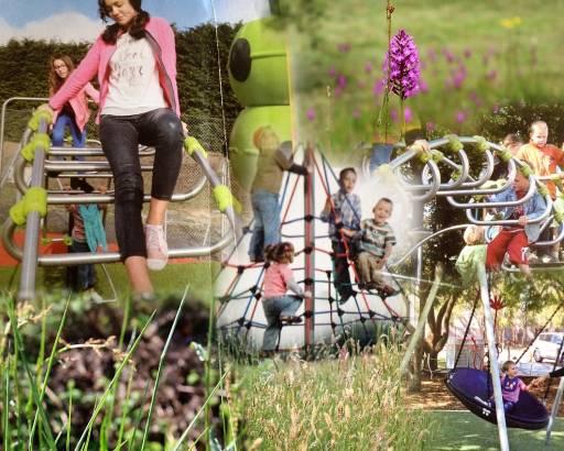 Nouvelle aire de jeux au Bosc Nègre village de vacances