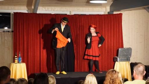 spectacle du magicien Yurgen au Bosc Negre