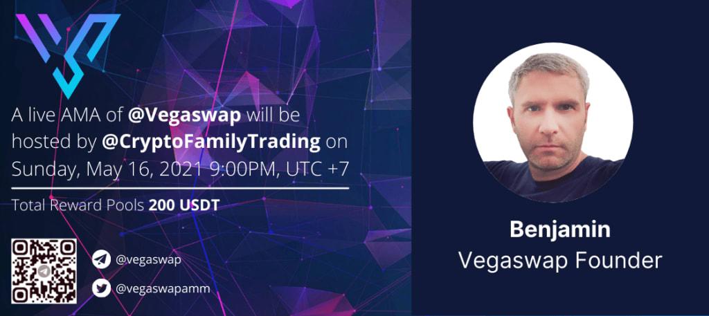 Vegaswap AMA - CryptoFamilyTrading
