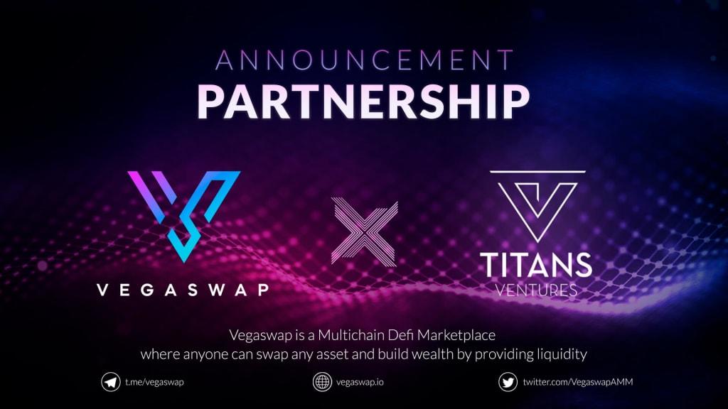 VegaswapAMM Announces Partnership with Titan Ventures