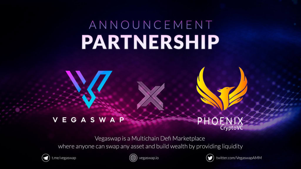VegaswapAMM Announces Partnership with Phoenix VC