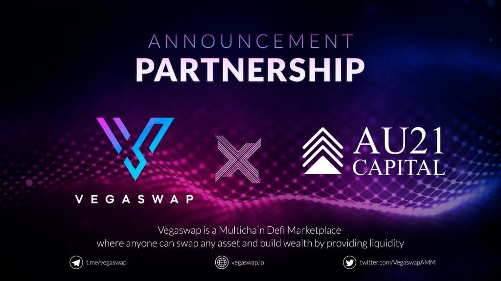 vegaswap au21 partnership