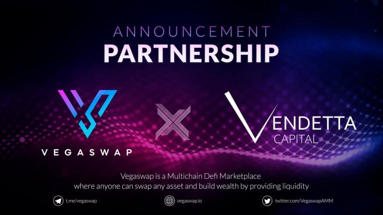 Vegaswap announce partnership with Vendetta Capital