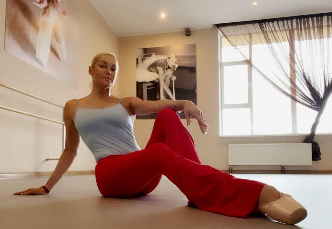 Волочкова показала, как надо тренироваться в самоизоляции