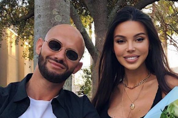 Джиган посетил празднование дня рождения своей жены Оксаны Самойловой и дочери Майи