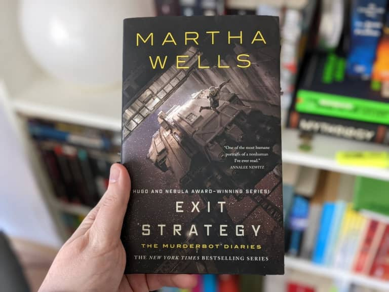 Cover: Martha Wells - Exit Strategy - Murderdiaries #4