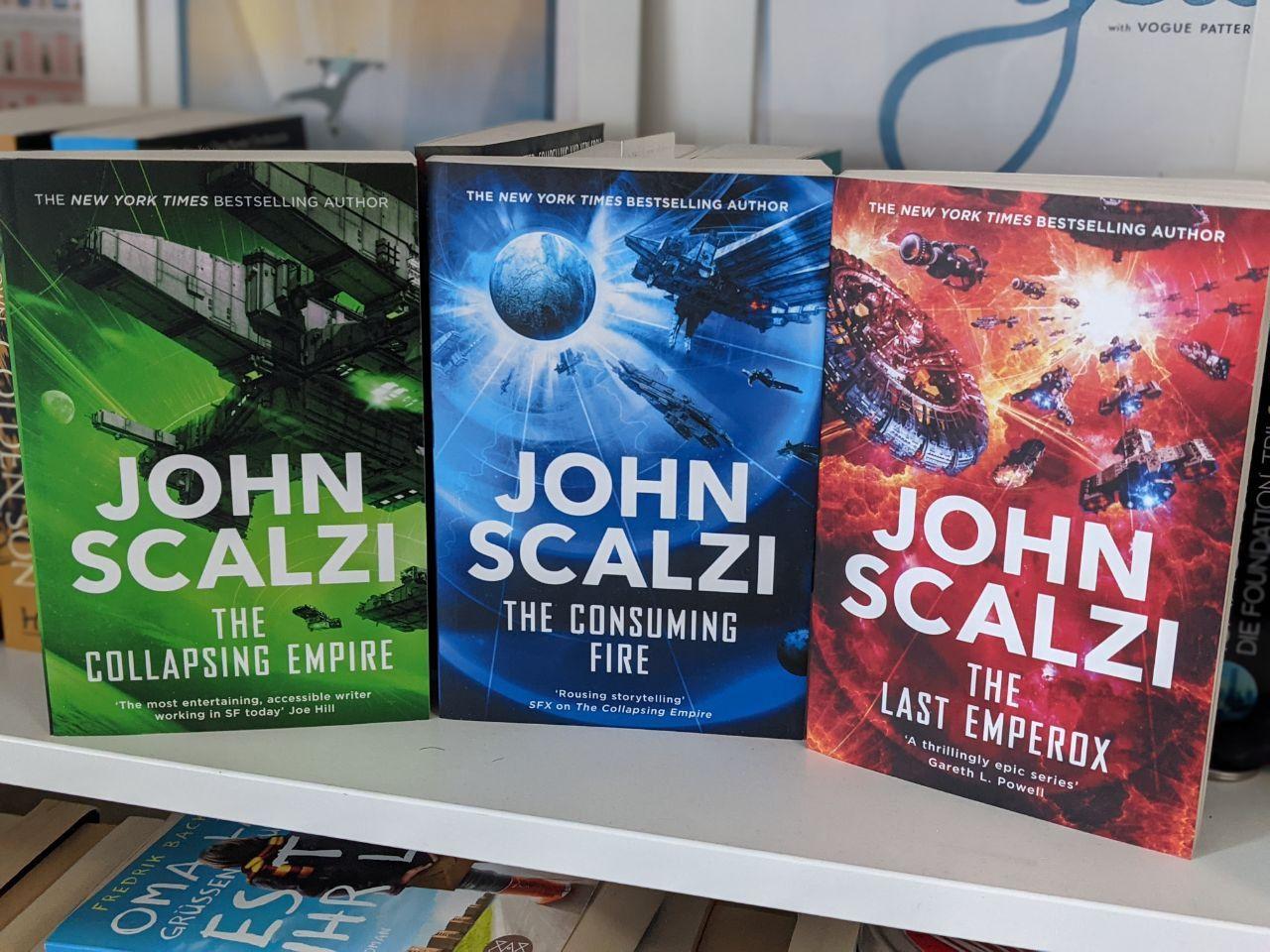 Die Interdepency - John Scalzi