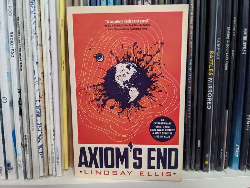 Axiom's End. - Tolles Cover, lahmer Inhalt