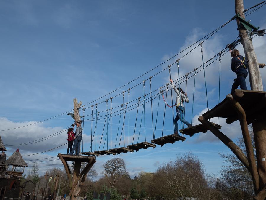 Hobbledown Farm Aerial Course