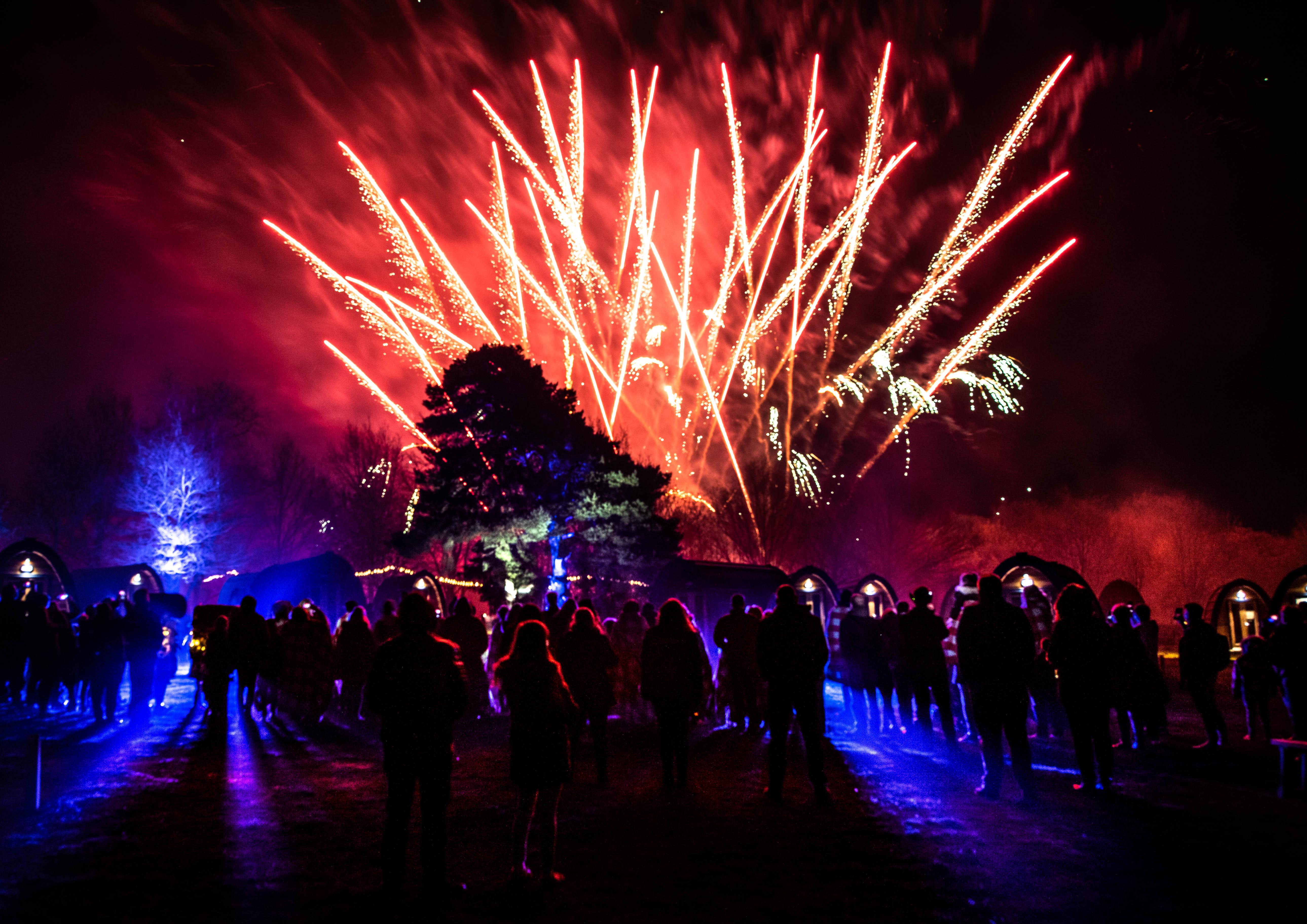 Stargazing Pods fireworks