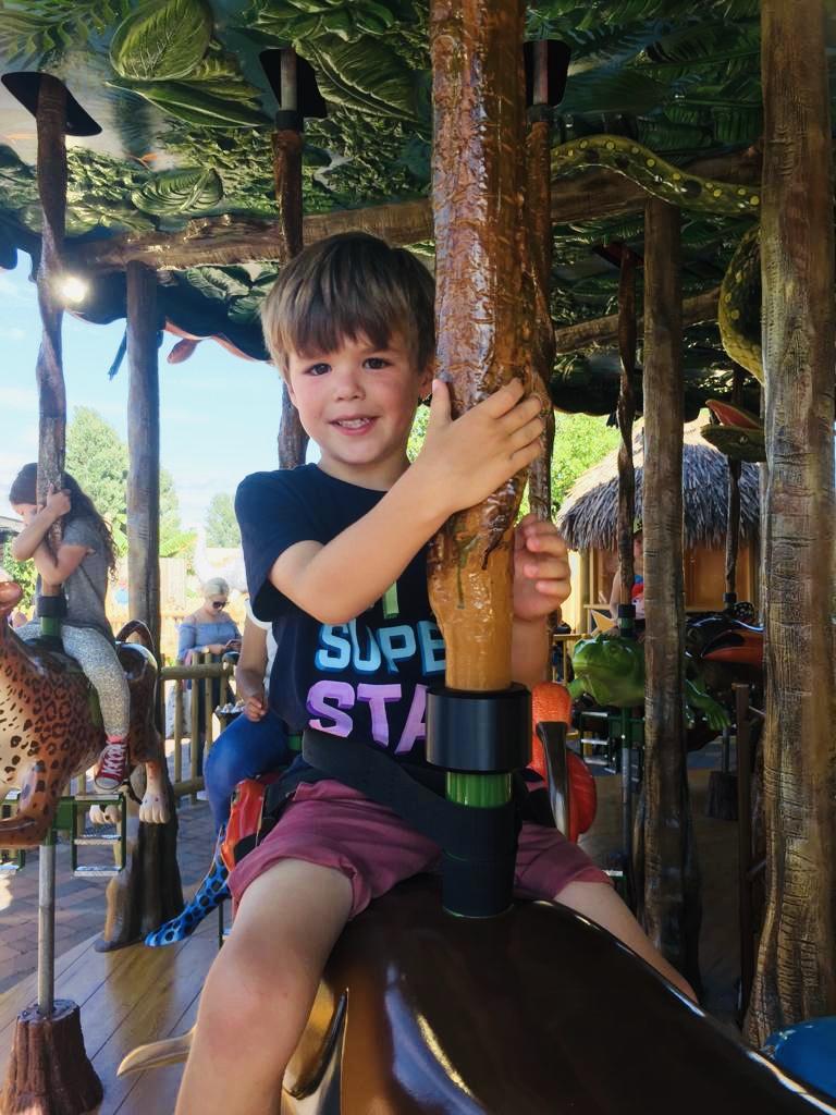 Drusillas zoo Rainforest Carousel