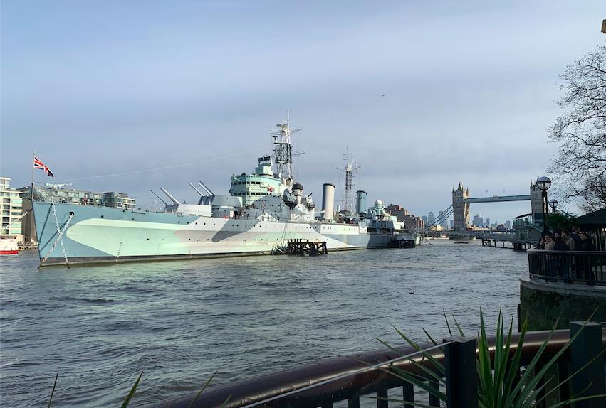 HMS Belfast, River Thames