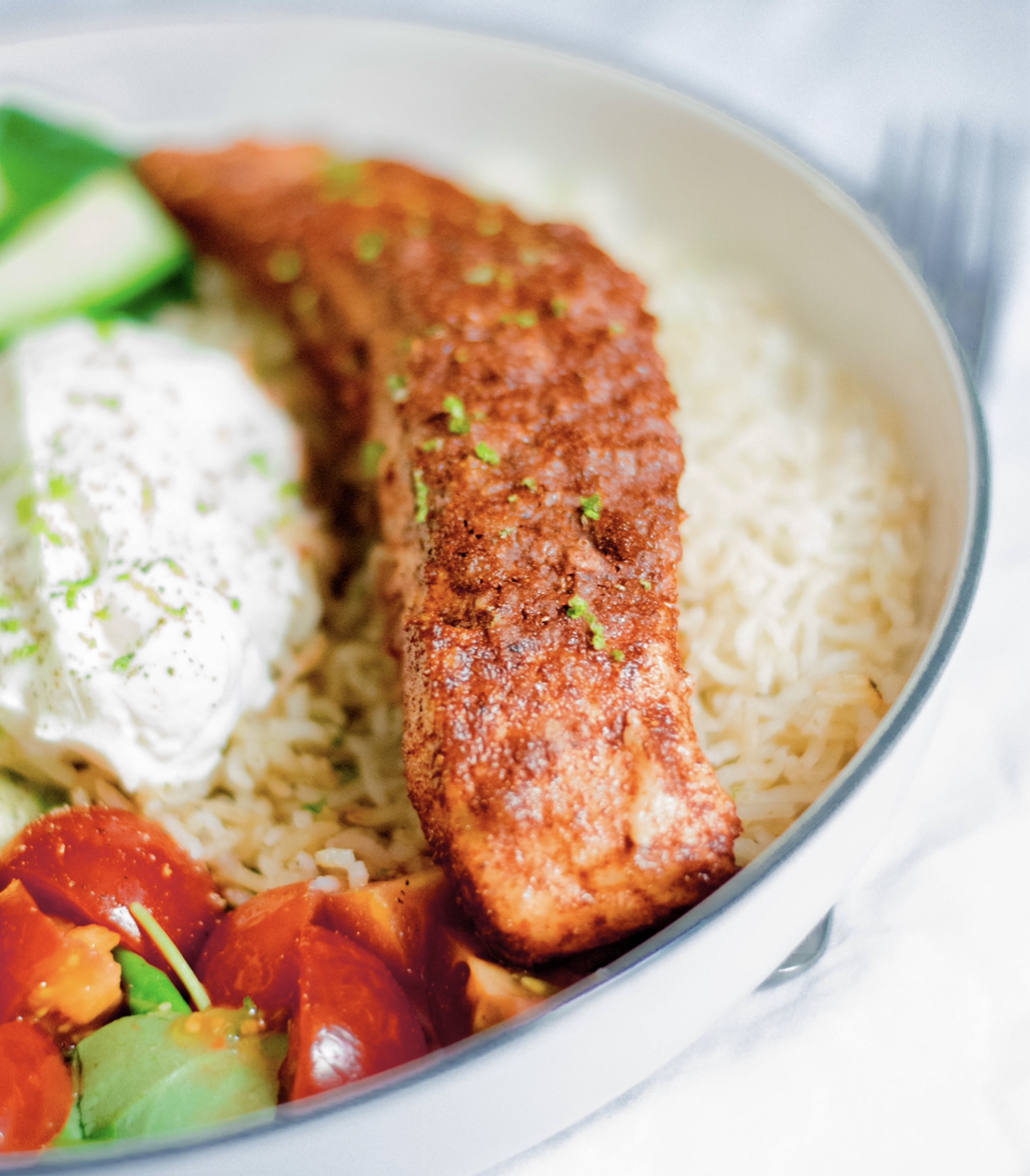 Tandoori Salmon Feast