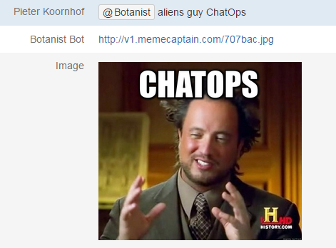 Aliens Guy ChatOps