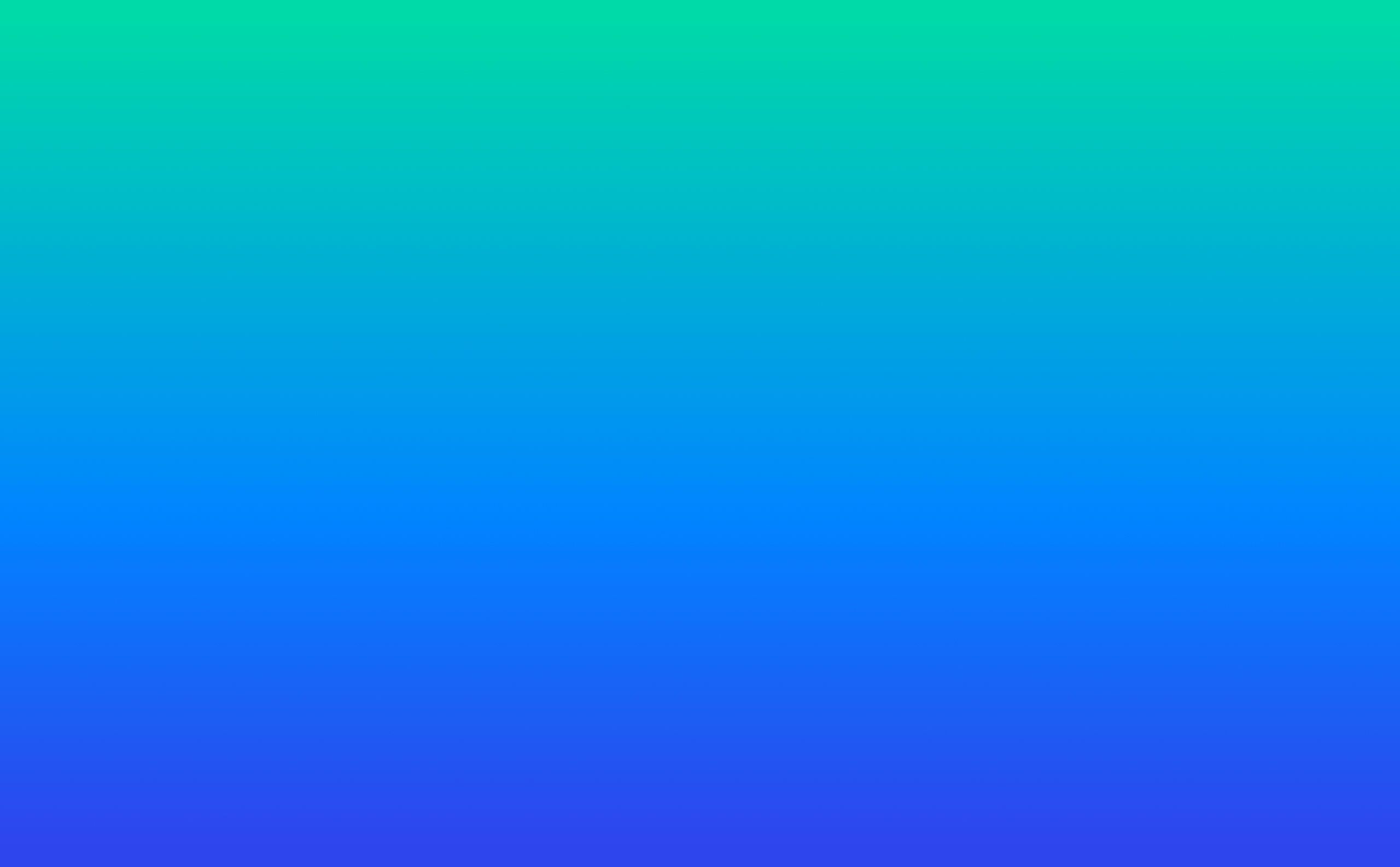 Blue green gradient