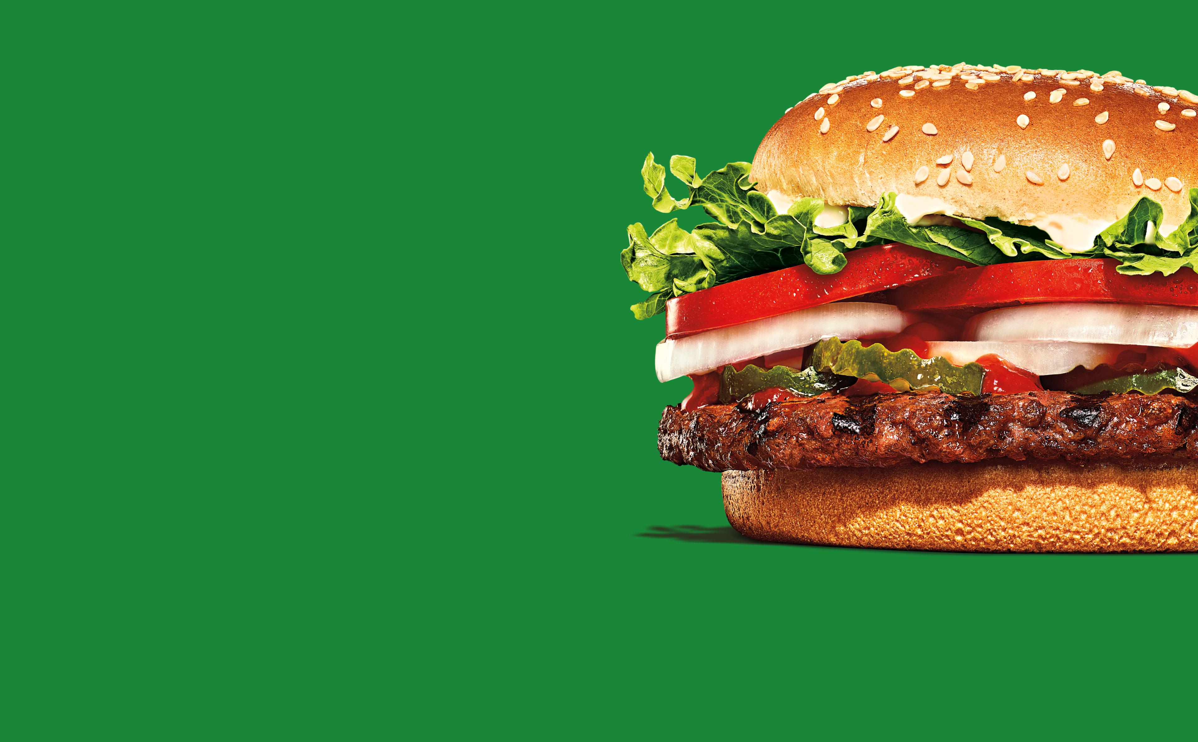Un délicieux burger