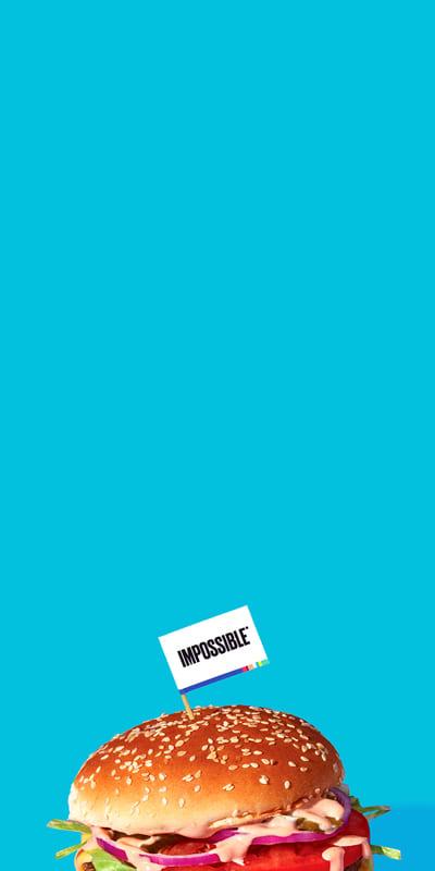Impossible Burger Blue Background Desktop Hero 1920x1189