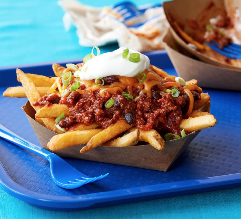 Impossible Chili Cheese Fries
