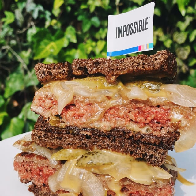 Try the Impossible™ Patty Melt On The Grill made with Impossible™ Burger.